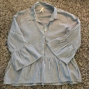 Flowy button up shirt